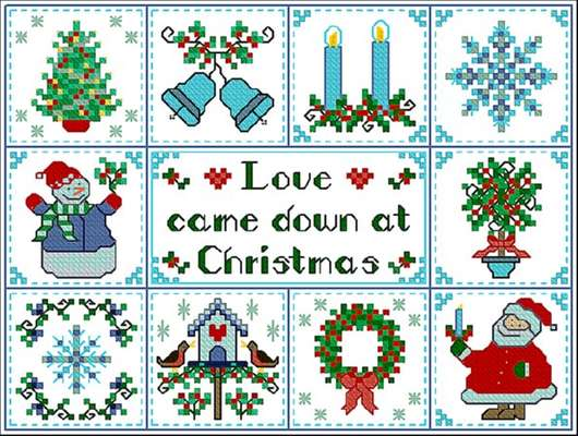 christmas cross stitch patterns free