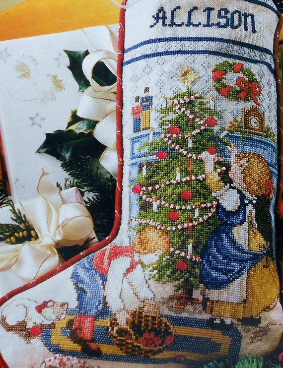 christmas stocking cross stitch patterns