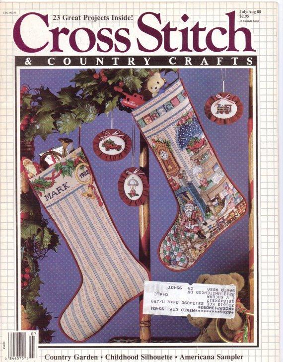 counted cross stitch magazine