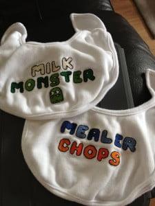 cross-stitch-baby-bibs
