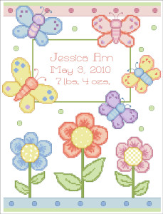 cross-stitch-birth-announcements