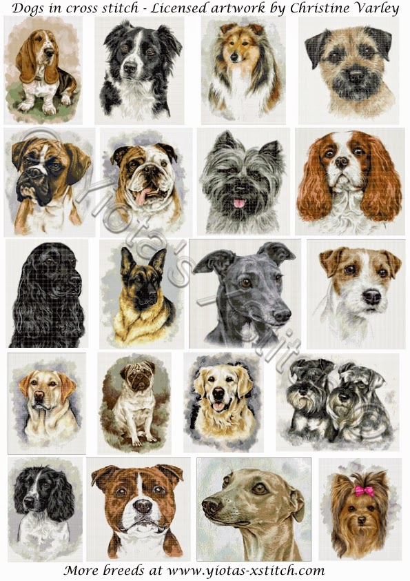 Cross Stitch Dogs Free Cross Stitch Patterns