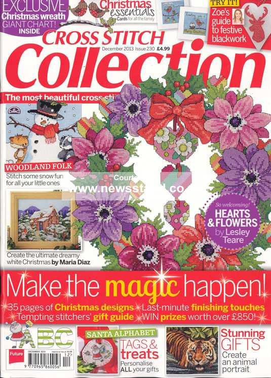 cross stitch magazine subscription