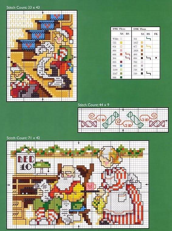 cross stitch motifs