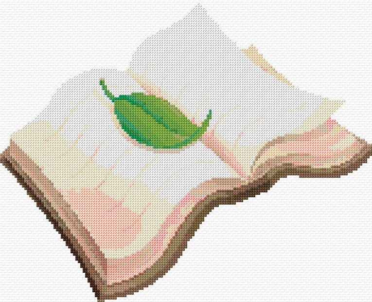 cross stitch pattern book