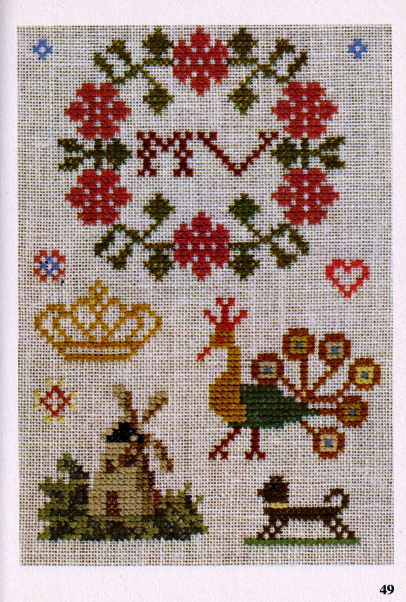 cross stitch pattern books