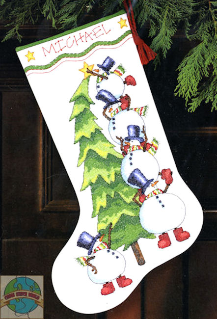 Cross Stitch Stocking Patterns | Free Cross Stitch Patterns