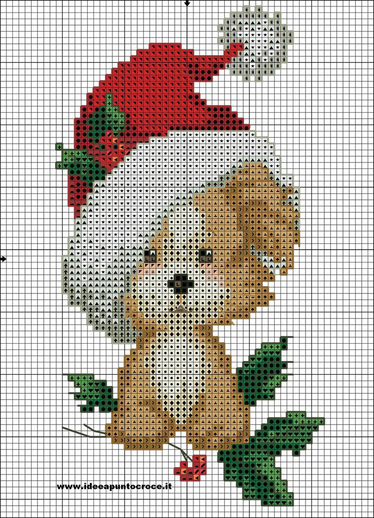 dog cross stitch
