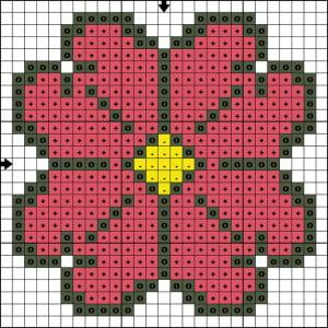 flower-cross-stitch-patterns