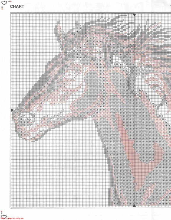 horse cross stitch patterns