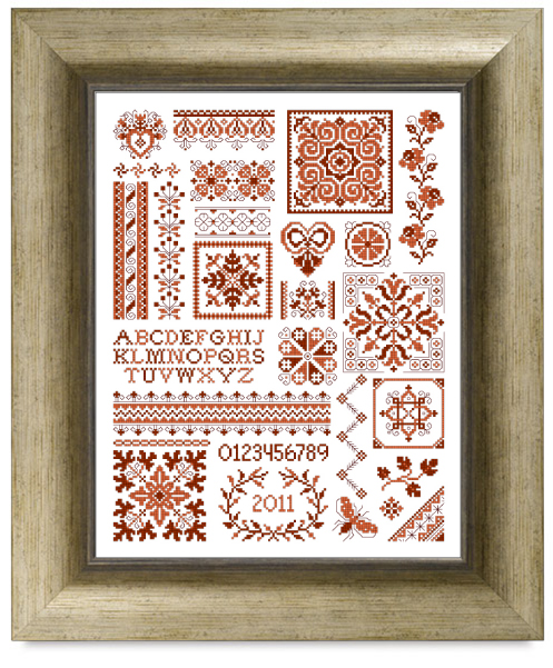 sampler cross stitch