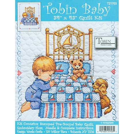 stamped-cross-stitch-baby-quilts