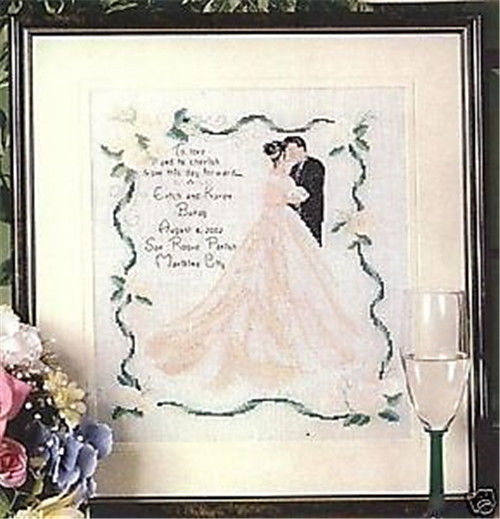 wedding cross stitch kits