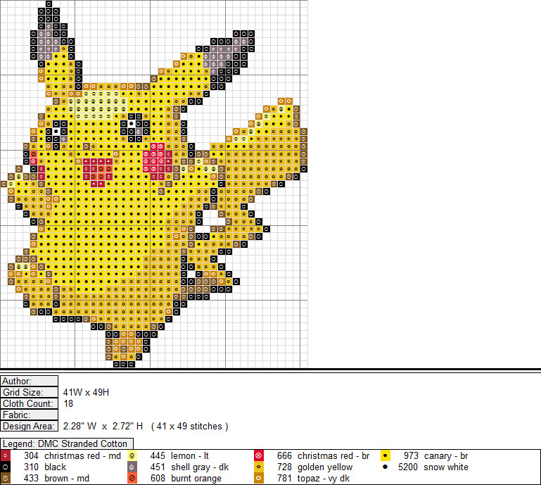 x stitch patterns free