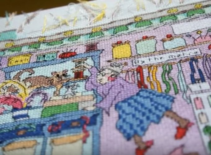 cross stitch kits disney