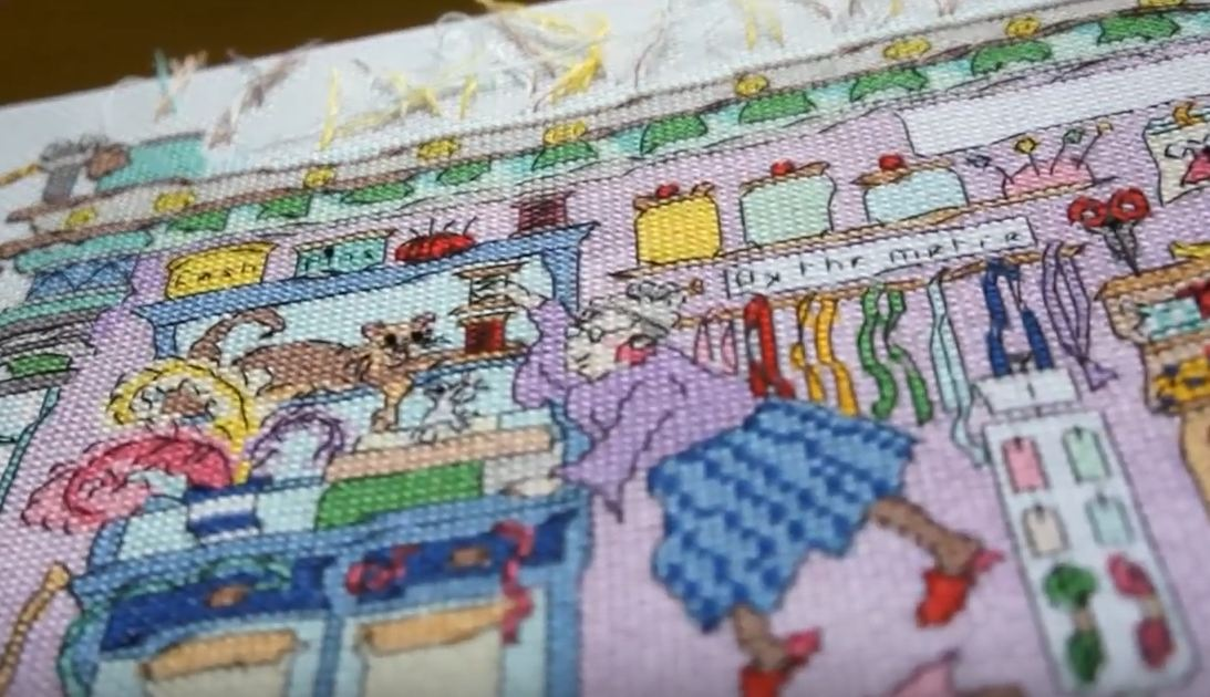 cross stitch kits disney