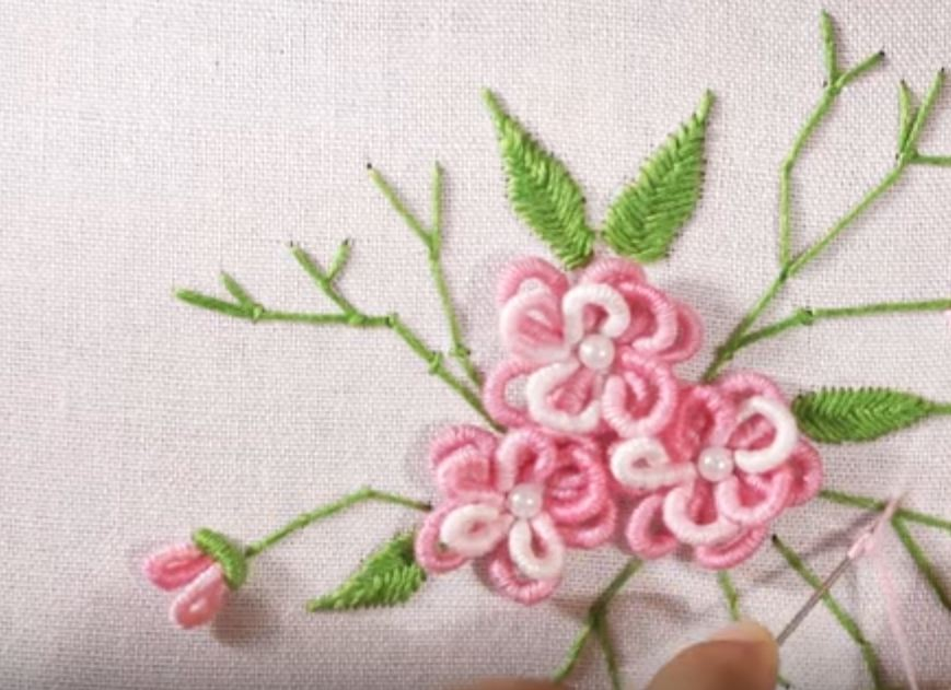 embroidery floss diy