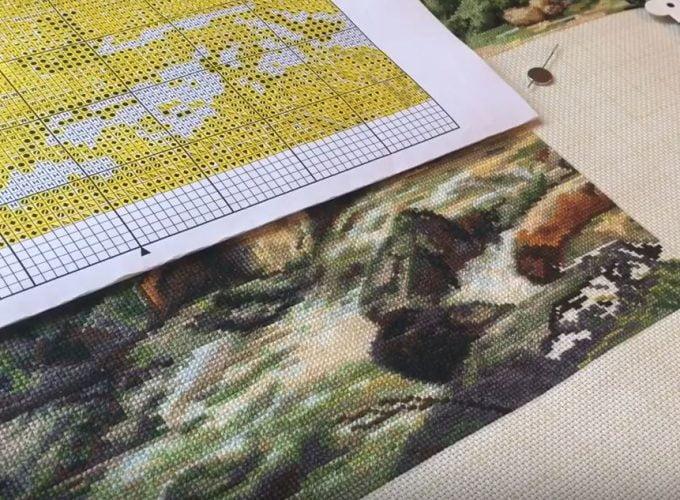 free cross stitch patterns charts