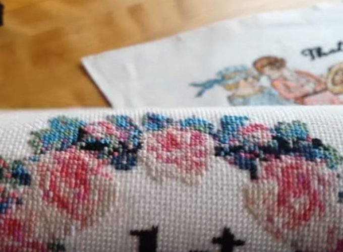 kids counted cross stitch