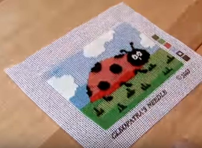 needlepoint kits coin purse