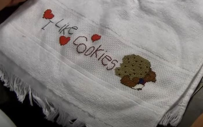 scross stitch designs for towels