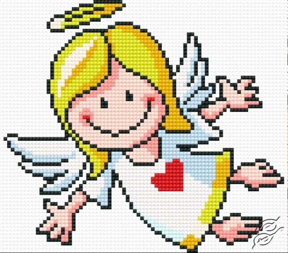 angel cross stitch patterns free