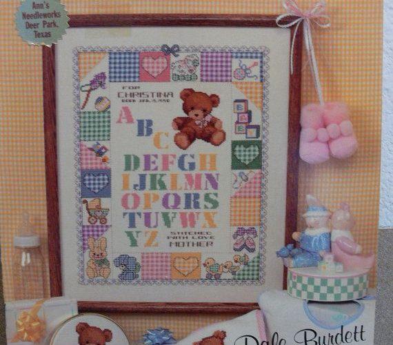 baby cross stitch samplers
