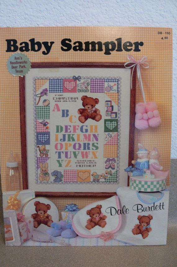 baby cross stitch samplers