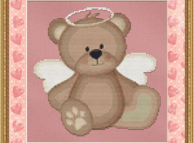 bear cross stitch
