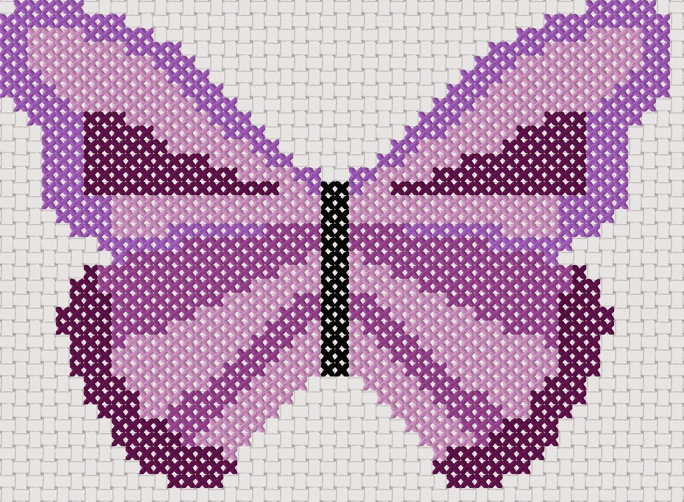 butterfly cross stitch patterns free
