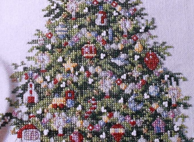 christmas counted cross stitch patterns