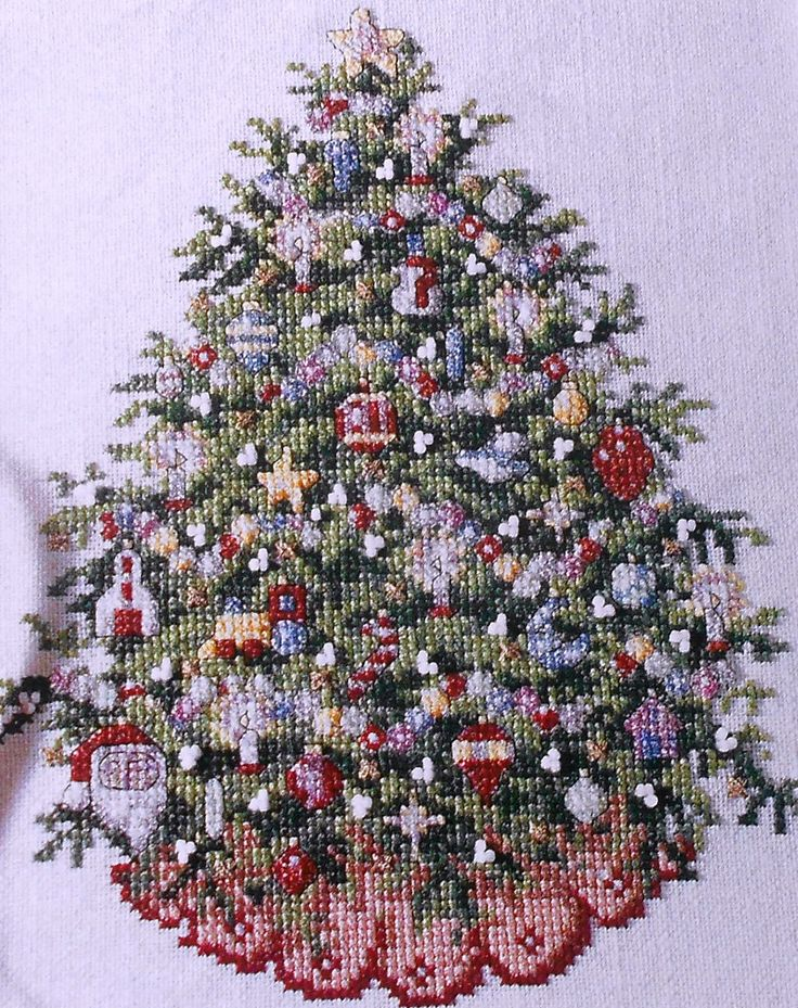 christmas counted cross stitch patterns