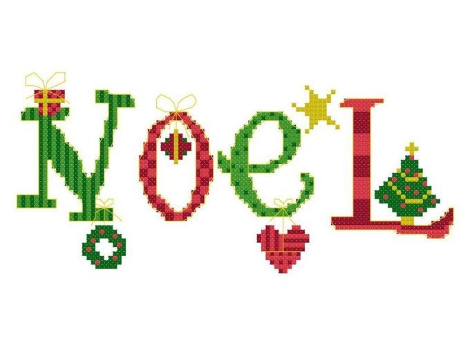 christmas cross stitch patterns free to print