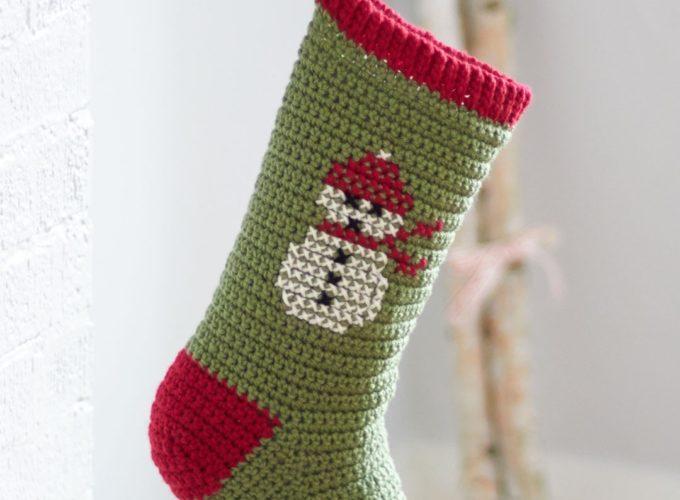 christmas cross stitch stockings