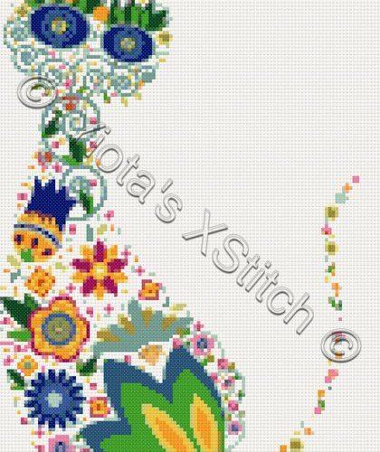contemporary cross stitch kits