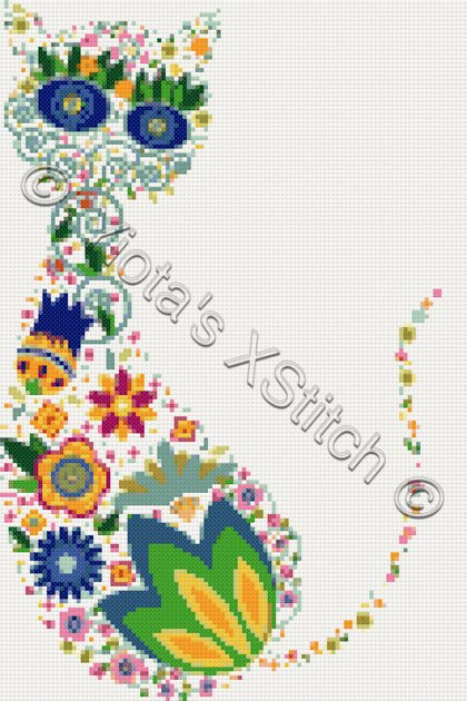 contemporary cross stitch kits