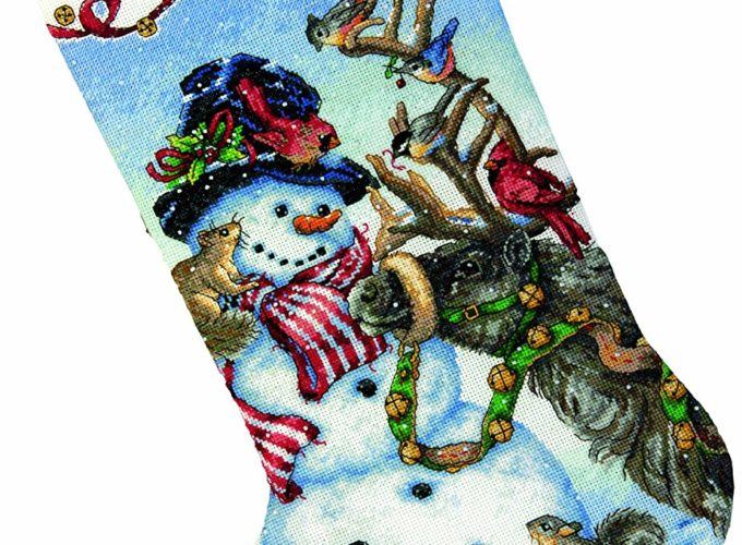 counted cross stitch christmas stocking kits