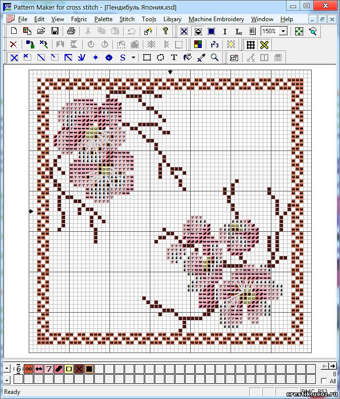 create your own cross stitch