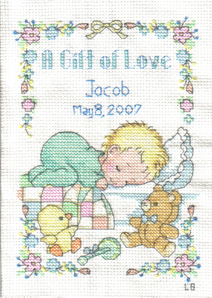 cross stitch baby patterns