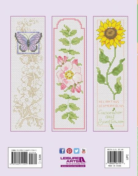 cross stitch bookmark patterns free
