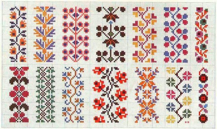 cross stitch borders free