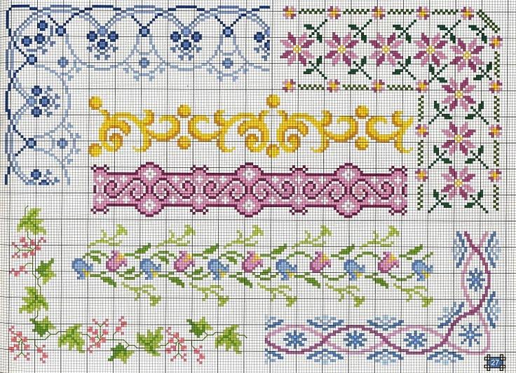 cross stitch borders