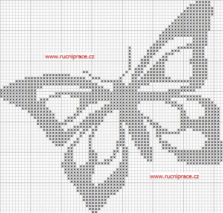 cross stitch butterfly patterns free