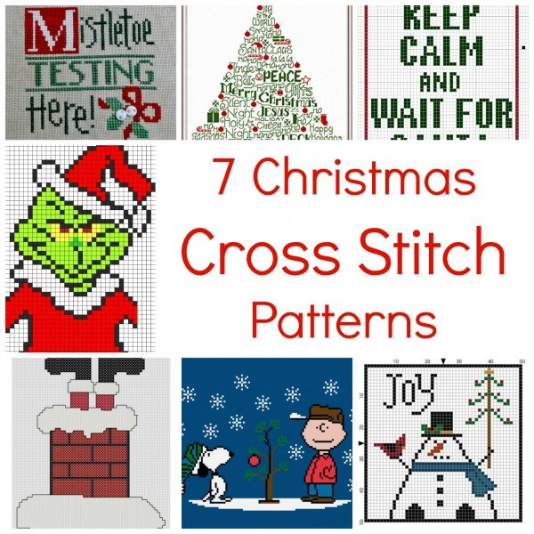 cross stitch christmas patterns