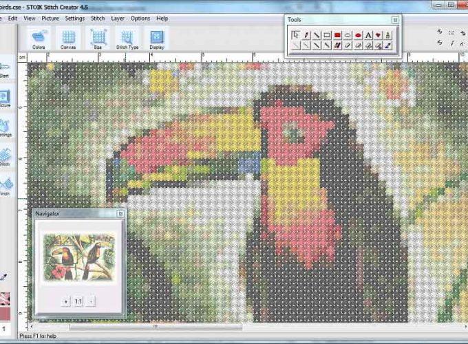 cross stitch design maker