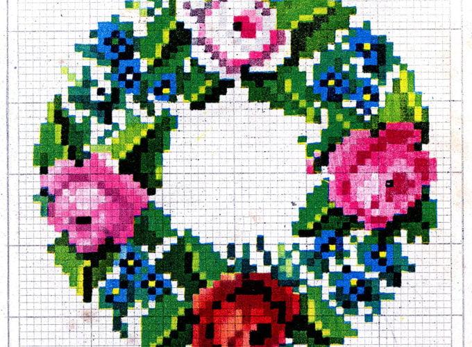 cross stitch design pattern
