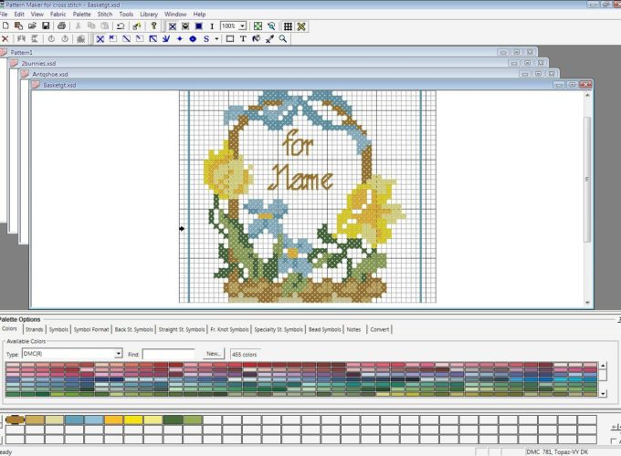 cross stitch design software free