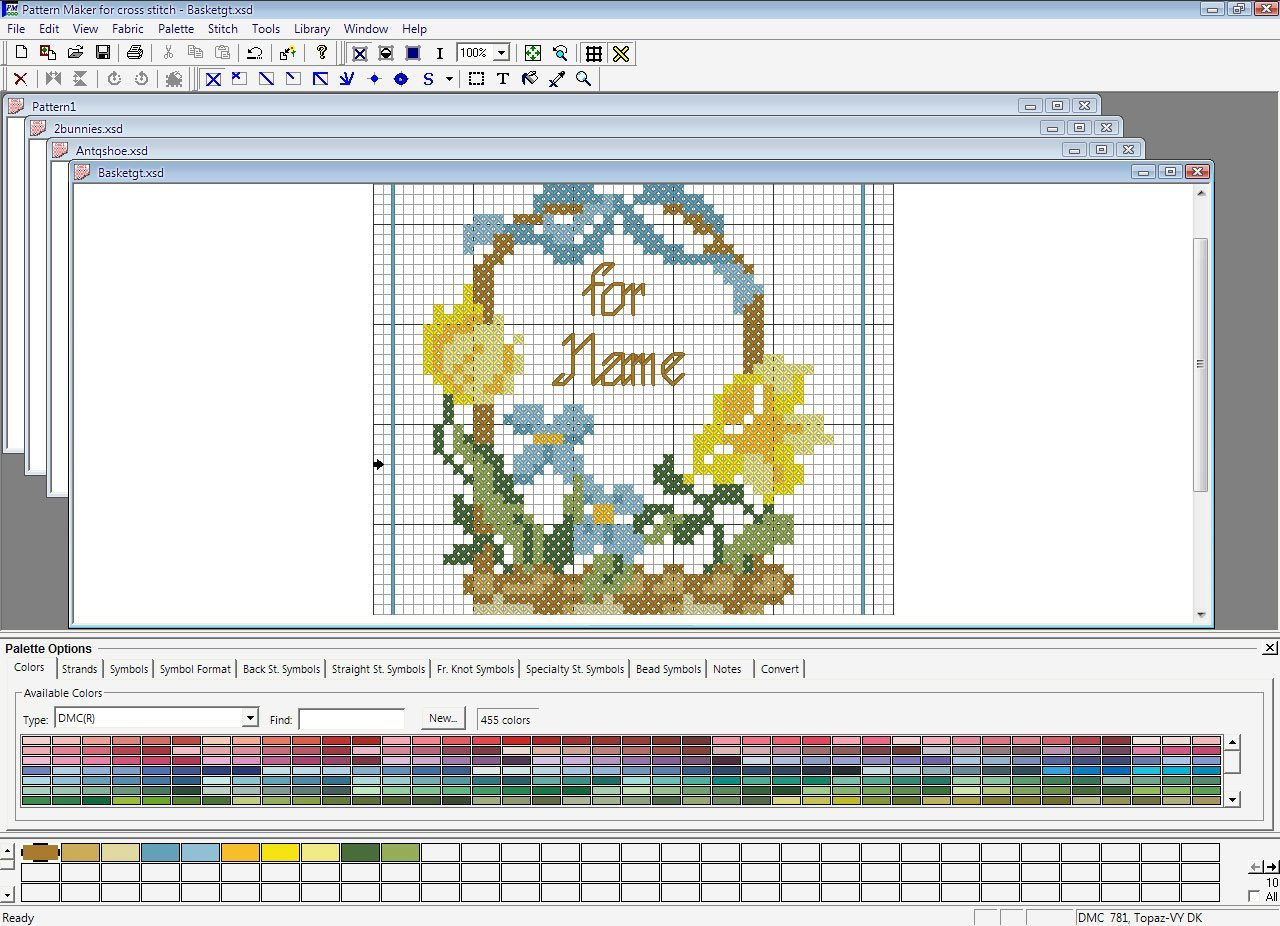 cross stitch design software free