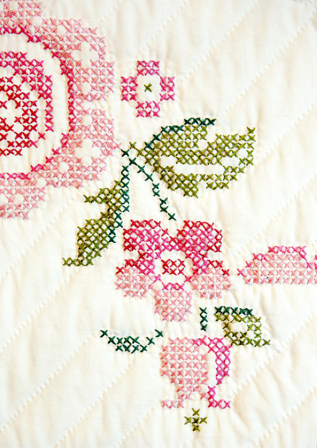 cross stitch flower patterns small