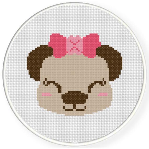 cross stitch girl